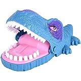 ACHICOO ジョーク 発光実用 恐竜 噛み手指 サウンドおもちゃ 子供 青