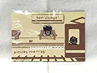 かえるのピクルス 東京駅 イベントピンバッジ ピンズ 駅長 Bon Voyage 13 ボンボヤージュ