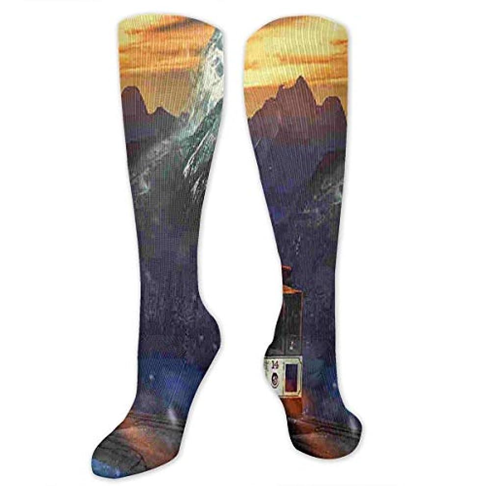 スラッシュ眠りおんどり靴下,ストッキング,野生のジョーカー,実際,秋の本質,冬必須,サマーウェア&RBXAA Women's Winter Cotton Long Tube Socks Knee High Graduated Compression...