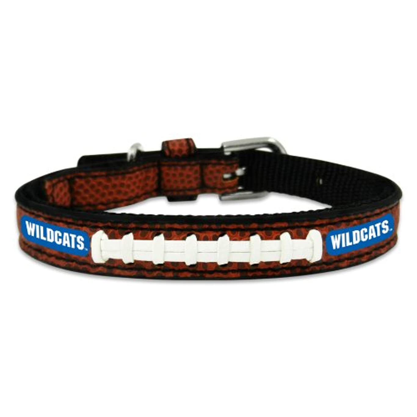 閉じ込めるトランペット宿命Kentucky Wildcats Classic Leather Toy Football Collar