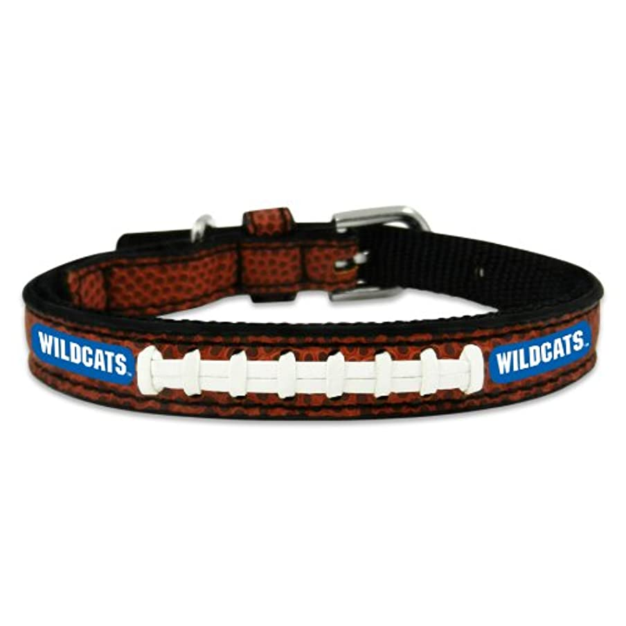 一節グラスソフィーKentucky Wildcats Classic Leather Toy Football Collar