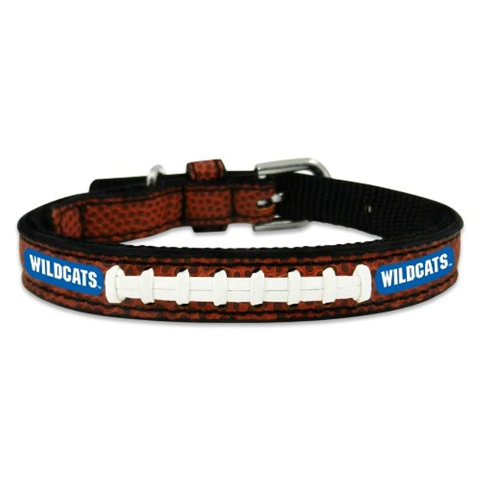してはいけないカートン織機Kentucky Wildcats Classic Leather Toy Football Collar