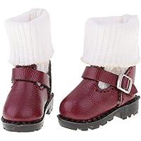 Lovoski  人形 流行 マーティンブーツ  靴 12インチブライスドール適用 装飾  全3色  - 03