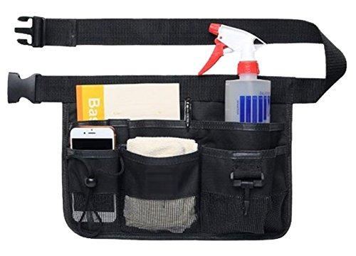 NYSh エプロン バック 仕事用 小物入れ 腰袋 作業用 ポケット 工具袋 ウエストポーチ
