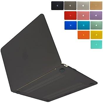 MS factory MacBook 12 ケース カバー マックブック 12インチ ハードケース 全14色 RMC series マット加工 ブラック 黒 RMC-MB12MBK