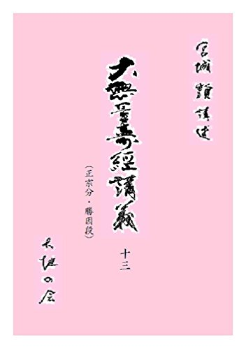 大無量寿経講義13 daikyoukougi (文庫)の詳細を見る