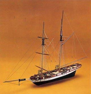 1073 輸入木製帆船模型 マンチュア モデル パナルト 745 リンクス