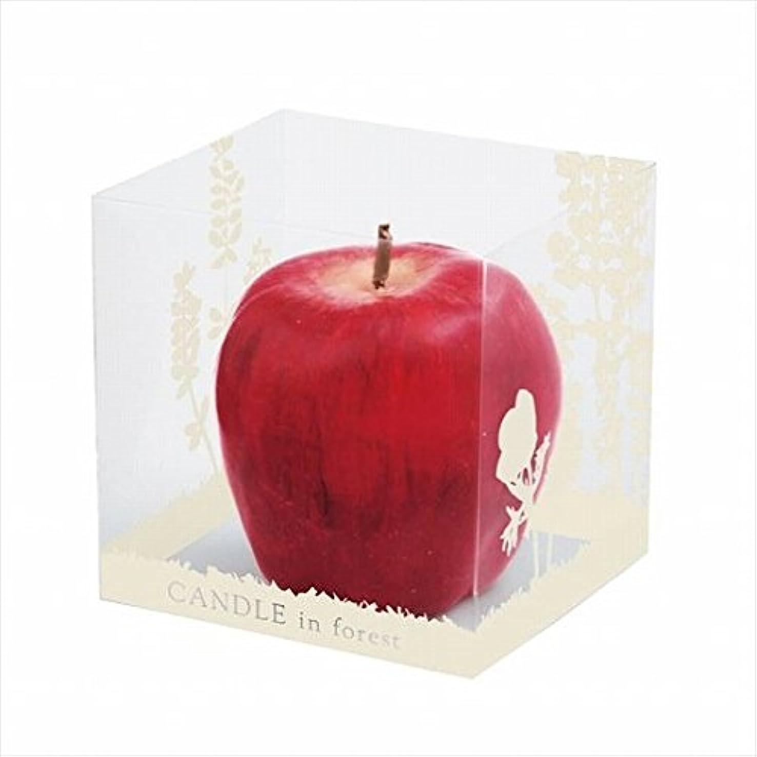 ファセット道に迷いましたアベニューカメヤマキャンドル(kameyama candle) アップルキャンドル