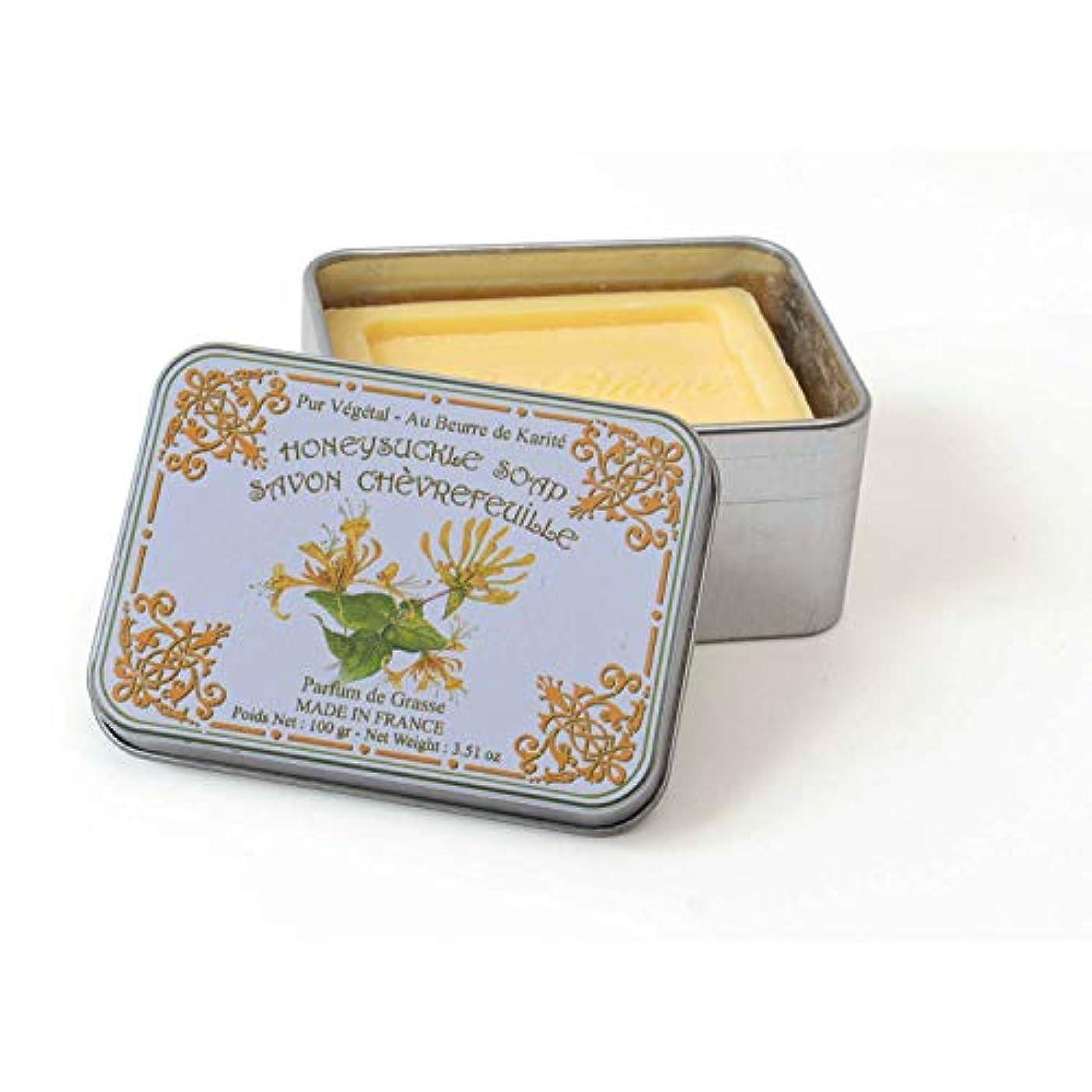 貪欲微視的移行Le Blanc ルブランソープ スイカズラの香り