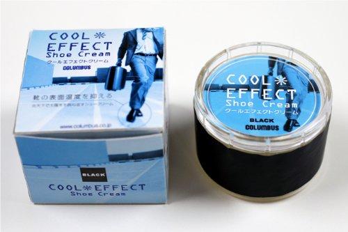 クールエフェクトクリーム 黒靴専用 靴の表面温度を抑える