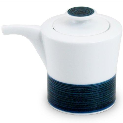 白山陶器 麻の糸 しょうゆさし インディゴ(120ml)