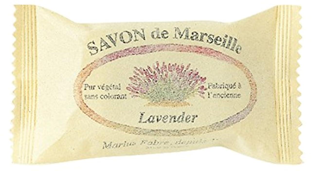 典型的な筋土曜日SAVON de Marseille サボンドマルセイユ ラベンダー20g (25個セット)