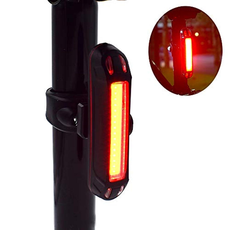 ダッシュ震えバランスのとれたRiao-Tech セーフティーライト 自転車 USB充電式 高輝度ledテールライト 防水 5点灯モード 夜間走行の視認性をアピール