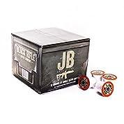 """ブラックRifleコーヒー会社JB """" Justブラック」コーヒーラウンドfor Single Serve醸造マシン( 32ct"""