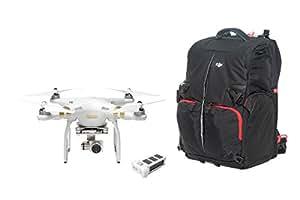 【日本国内正規仕様品】DJI Phantom 3 Professionalファントム 3 プロフェッショナル + 予備バッテリー + 専用バックパックセット 4Kカメラ搭載モデル (Professional Backpack Full Set)