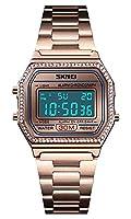 クォーツ腕時計 メンズ キャンバスバンド クロノグラフ 防水 スポーツカレンダー 腕時計 48mm ブルー
