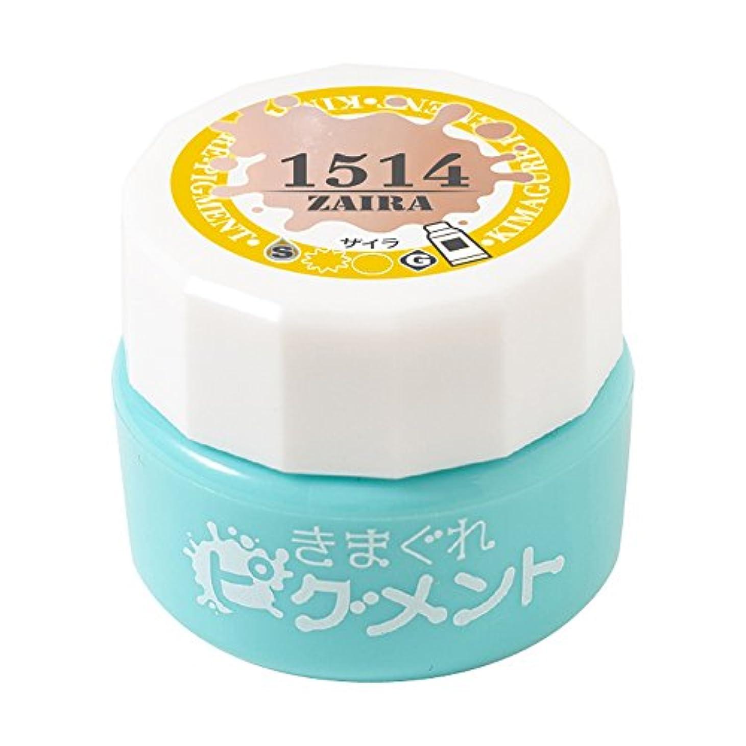 Bettygel きまぐれピグメント ザイラ QYJ-1514 4g UV/LED対応