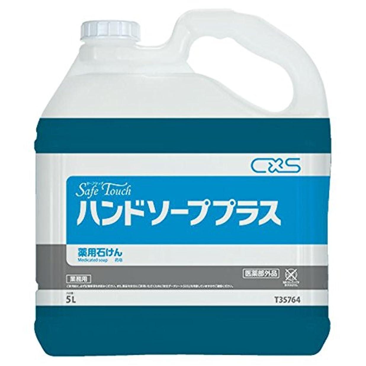 年金受給者マオリ野ウサギシーバイエス(C×S) 手洗い用石鹸 セーフタッチハンドソーププラス 5L