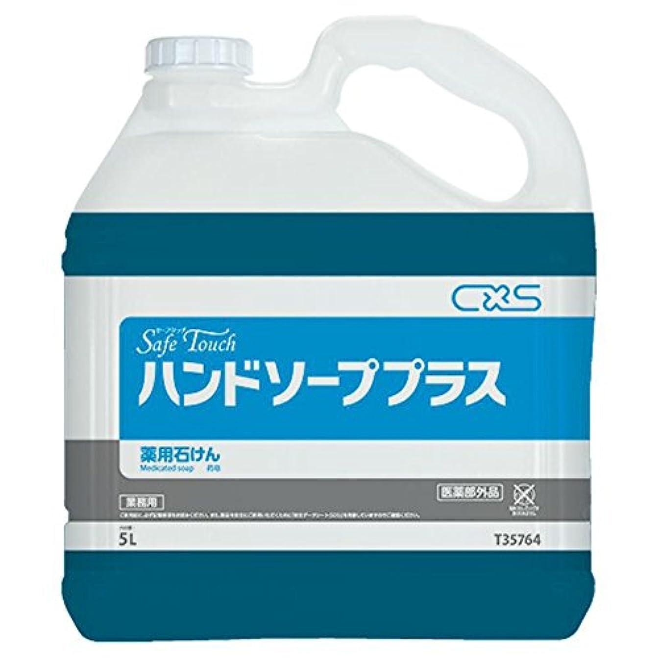 テナント横向き懲戒シーバイエス(C×S) 手洗い用石鹸 セーフタッチハンドソーププラス 5L