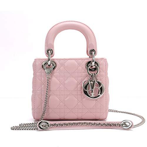 Dior(ディオール) M0505PCAL ラムスキン LADY DIOR バッグ チェーン ミニバッグ [並行輸入品]