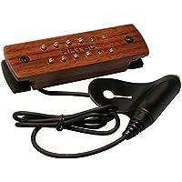 ARTEC サウンドホールピックアップ 木製ピックアップカバー WSH12-WN-OSJ ウォールナット