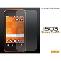 液晶保護シール(ノーマル) au(エーユー)Android IS03用
