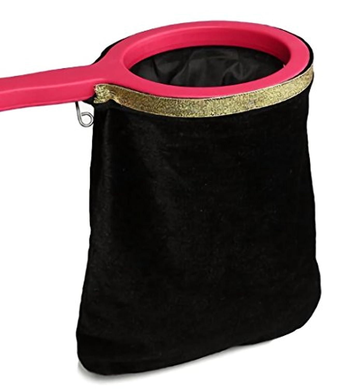 Zafina マジック 袋から花が出てくる 不思議 手品 袋 (ブラック)