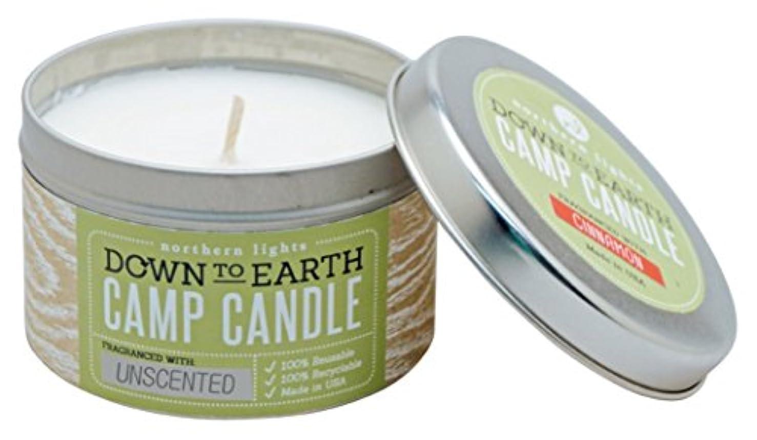 ビルマ代表送るNorthern lights Candles キャンプティン(缶入り)キャンドル 無香 NLS59172