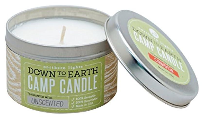 詳細になぜキャストNorthern lights Candles キャンプティン(缶入り)キャンドル 無香 NLS59172