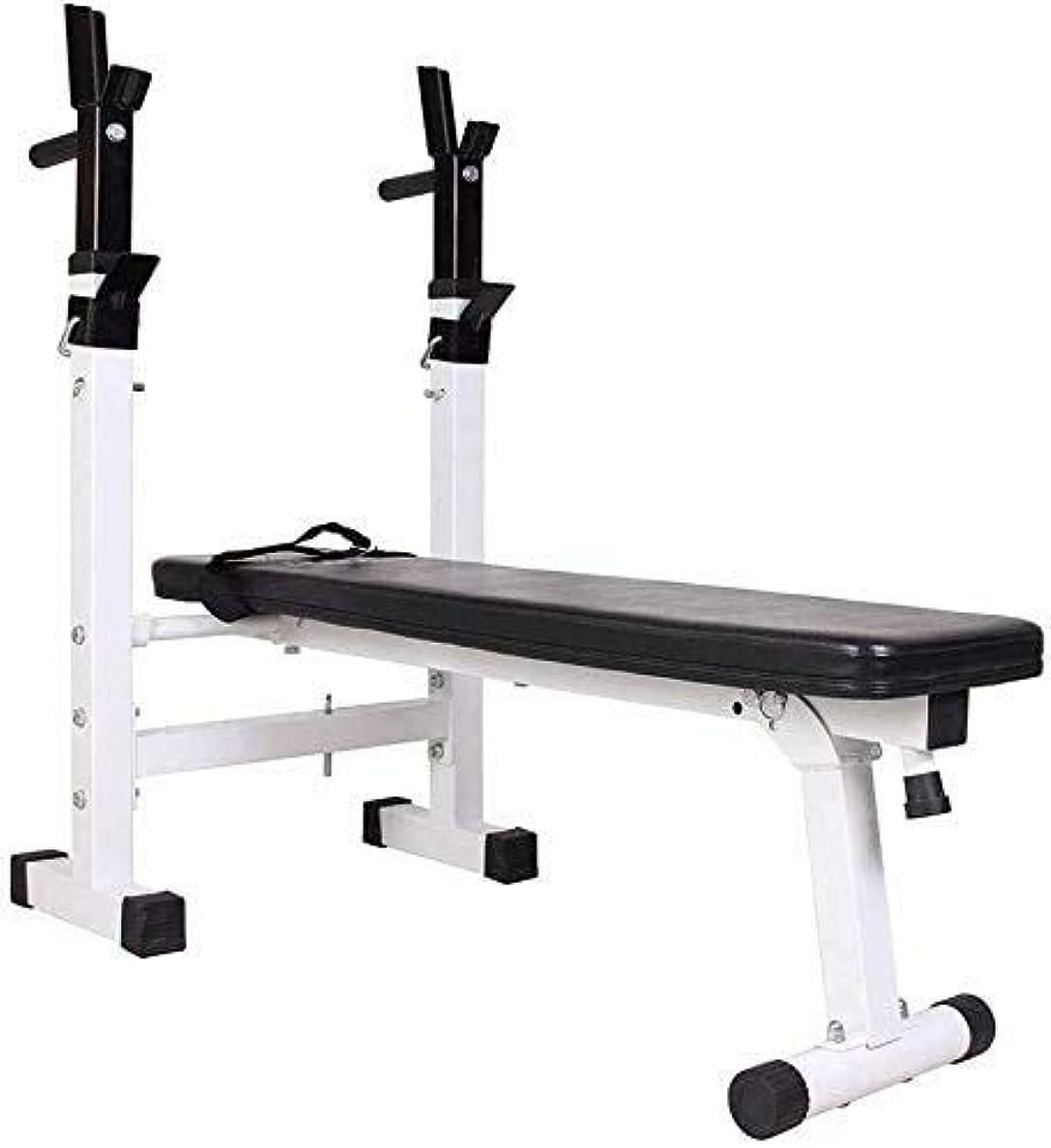 瀬戸際状軍団DAGCOT (ダンベルなし)アジャスタブル重量ベンチワークアウトベンチ腹部ウエストトレーニングインテリジェント折りたたみシステム、アンチスリップ