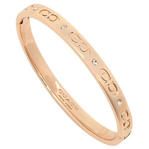 [해외](코치) COACH 코치 팔찌 아울렛 COACH F59083 RGD 팔찌 팔찌 로즈 골드 [병행 수입품]/(Coach) COACH Coach Bracelet Outlet COACH F 59083 RGD Bracelet · Bangle Rose Gold [Parallel import goods]