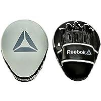 Reebok(リーボック) コンバット フック&ジャブ パッド MサイズHook and Jab Pads - Grey フィットネス ボクササイズ RSCB-11150GR
