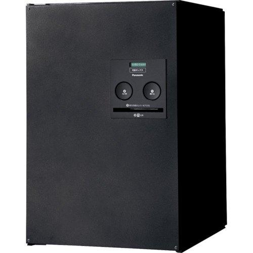 戸建住宅用宅配ボックス COMBO ミドルタイプ FF(前出し) 右開き 鋳鉄ブラック CTNR4020RTB