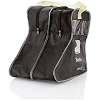 2pcsポータブルBig靴ストレージバッグHanging Closetキャビン靴カバーブーツオーガナイザー袋Storagingバッグwith Zipper Bootプロテクター ブラック