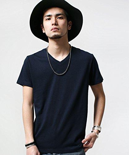 (ナノ・ユニバース) nano・universe 別注 V Neck Tシャツ SS wjk 9999161150603 S ネイビー