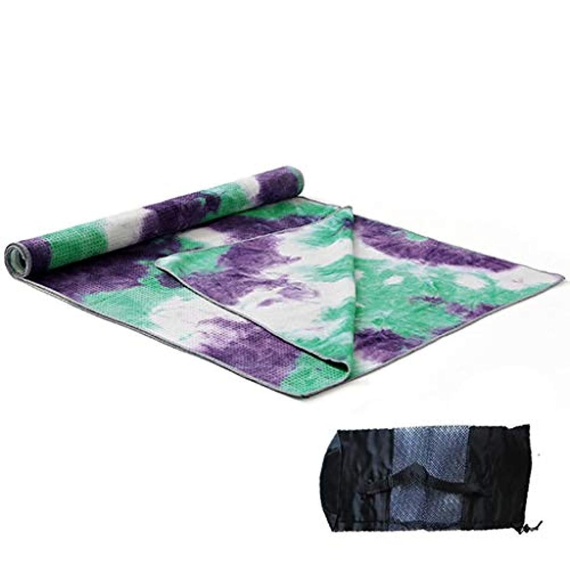 ありそう充電ケント寝袋アウトドアアウトドアブッシュスリーシーズンキャンプ ノンスリップヨガクッションフィットネスマット面ヨガ用ホットヨガやピラティス収納袋付き183 * 63センチ7スタイル で利用できる単一の二重色 (色 : Style1)