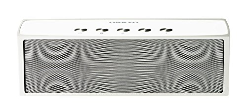 ONKYO ポータブルワイヤレススピーカー Bluetooth(aptX)対応 シルバー SAS200(S)