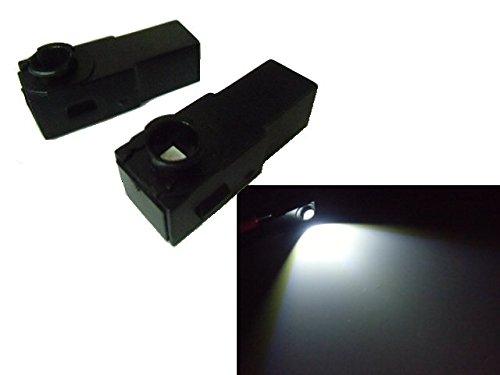 トヨタ汎用/純正交換用LEDインナーランプ・フットランプ/白...