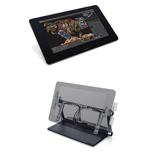 【専用スタンドセット】ワコム 液晶ペンタブレット 27型QHD液晶 Cintiq 27QHD touch DTH-2700/K0