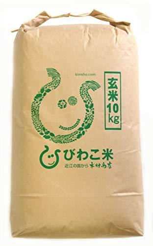 【玄米】お米 コシヒカリ 玄米10kg【令和元年・滋賀県産】◆◆無農薬◆◆