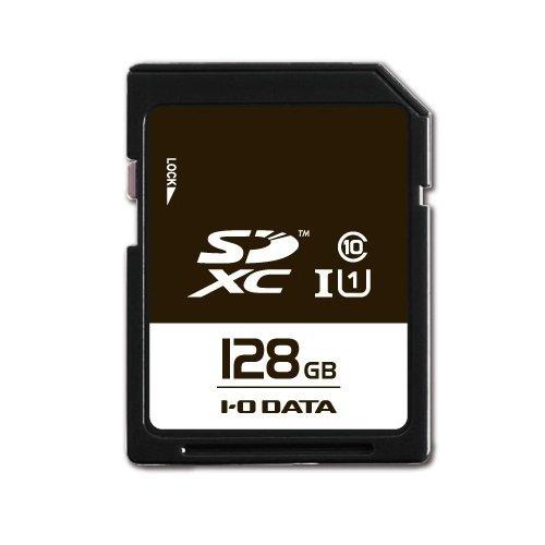 I-O DATA SDXCカード 128GB UHS-I(スピードクラス1)/Class10対応 耐X線 EX-SDU1/128G