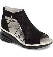 [ジャンブー] レディース サンダル Jambu Naomi Perforated Wedge Sandal (Wom [並行輸入品]