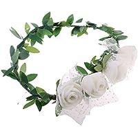 Blesiya 花輪 花帽子 人形アクセサリー プラスチック製 1/3スケールBJDドール用飾り 全5色 - #5