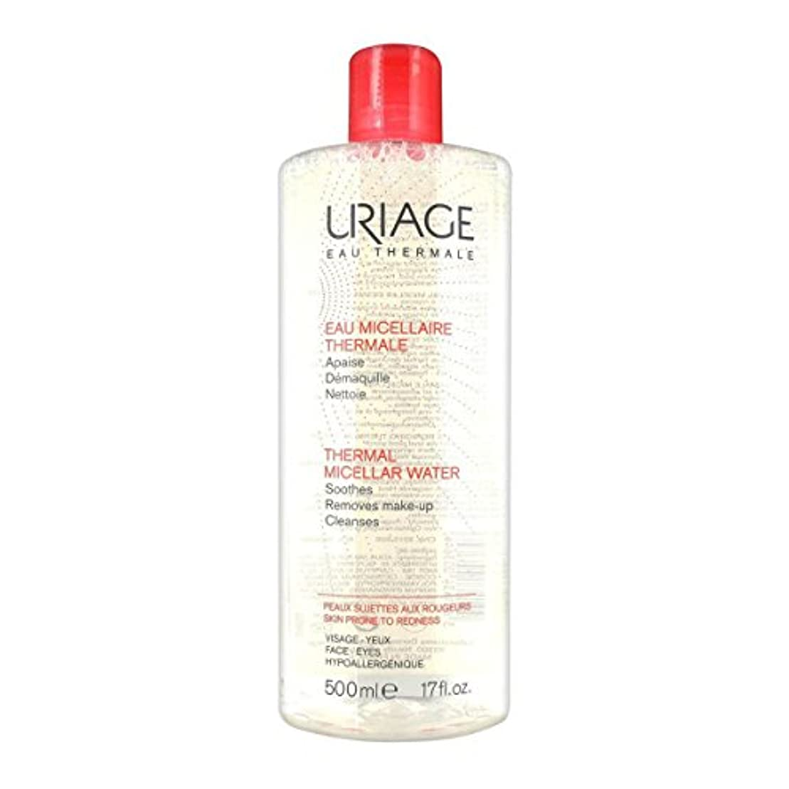 外側ベーコン推進Uriage Thermal Micellar Water Skin Prone To Redness 500ml [並行輸入品]