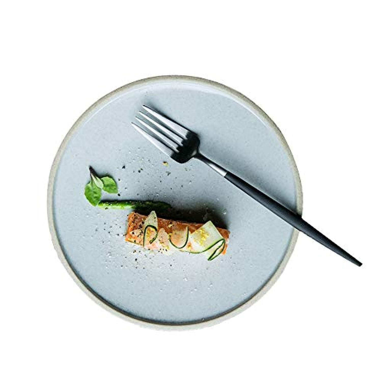 シンプルなスタイルのカトラリー、セラミック、洋食用カトラリー、(21 x 2 cm)