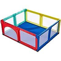 BSNOWF-ベビーサークル ポータブルセーフティベビープレイペン100ボール、カラフルな屋内屋外アンチロールオーバー幼児クロールマット、オプションの再生ヤード (サイズ さいず : 150×190cm)