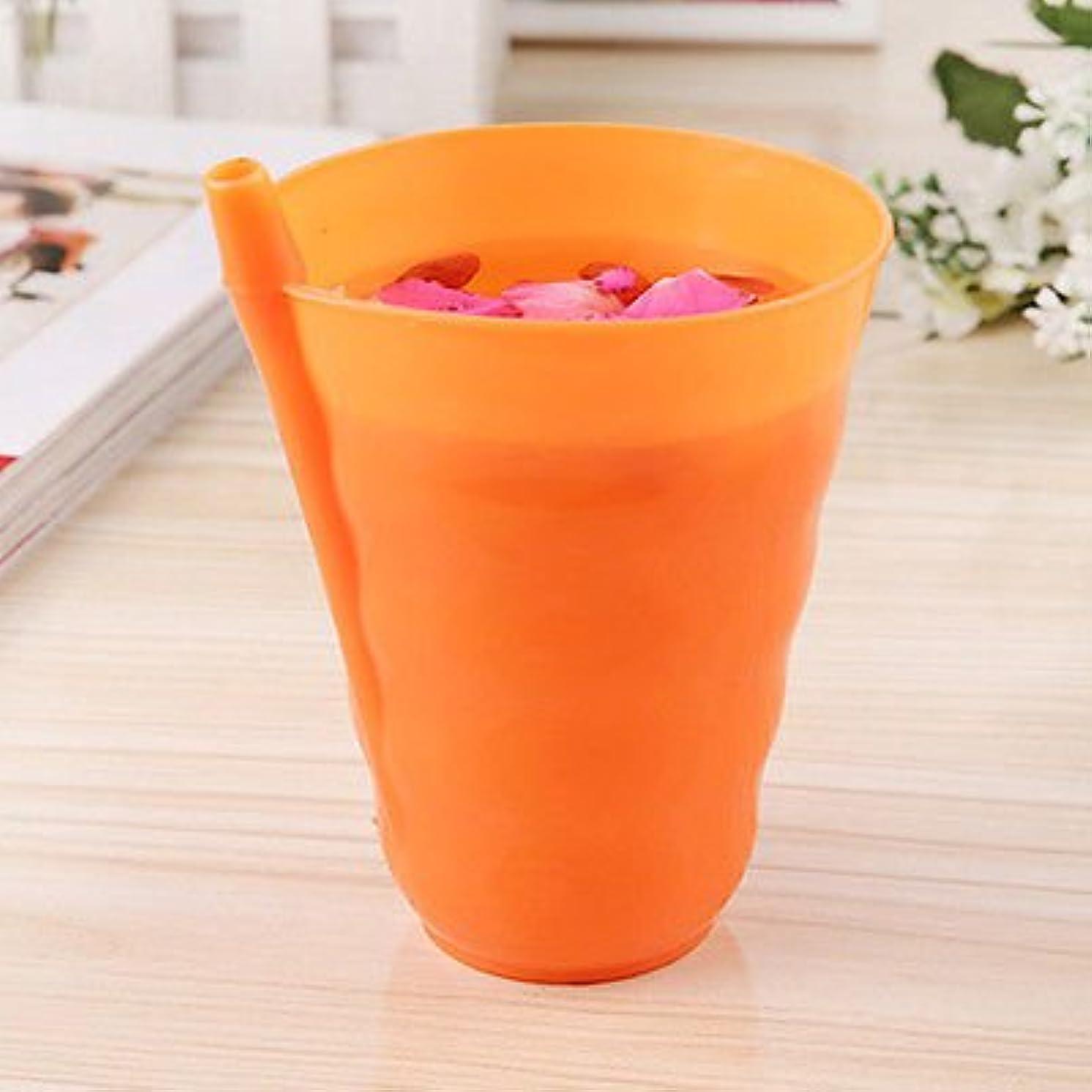 幸運なことに概要リンクオレンジキッズ子供幼児赤ちゃんSip Cup with Built in StrawマグDrinkホーム色