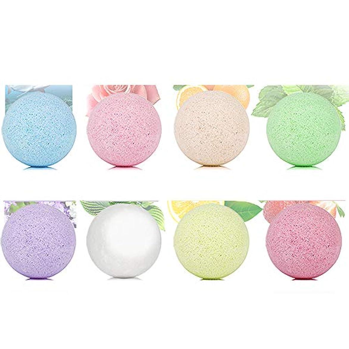 競争力のある明らかアカデミックバスボム 炭酸 入浴剤 ギフト 手作り お風呂用 8つの香りキット 天然素材 カラフル バスボール 母の日 結婚記念日 プレゼント
