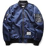 フライトジャケット MA-1 メンズ リバーシブル ジャケット ミリタリー ブルゾン ジャンパー アウター 秋 冬 春 防寒 防風 カジュアル