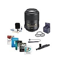 Nikon 85Mm F / 3.5g af-s DX Micro NIKKOR ED ( vr-ii )レンズ–u.s.a.保証Nikkorレンズ–Accessoryバンドルwithフィルタキット& Proソフトウェアパッケージ
